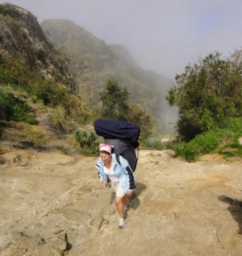 Indiana Jo Backpack Porters Inca Trail