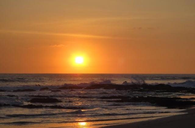 Santa Teresa Beach Sunset