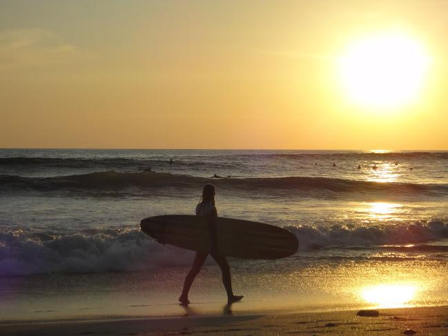 Santa Teresa Beach Surfing