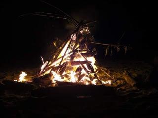 Visit Nicaragua Bonfire