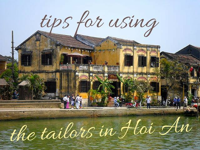 How to use the tailors in hoi an (1)