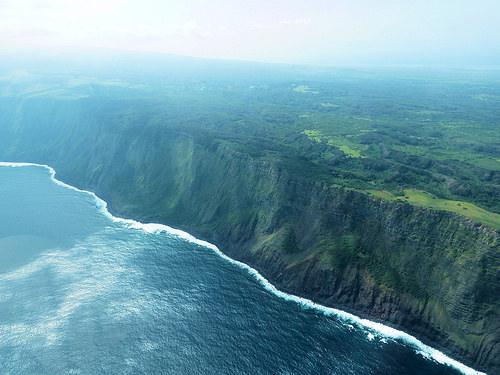 Molokai in the Hawaiian Islands