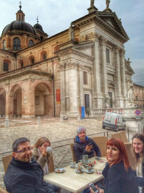 Cathedral Urbino Italy