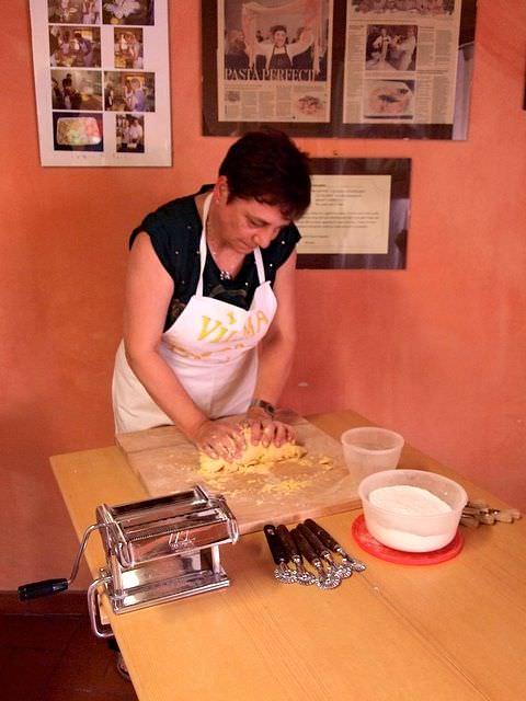 Meet Vilma in a Cooking Class Tavarnelle val di Pesa