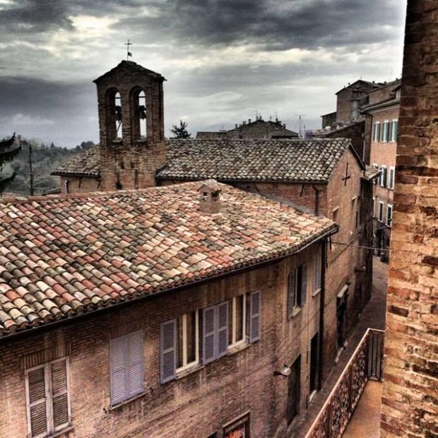 Urbino Streets Italy