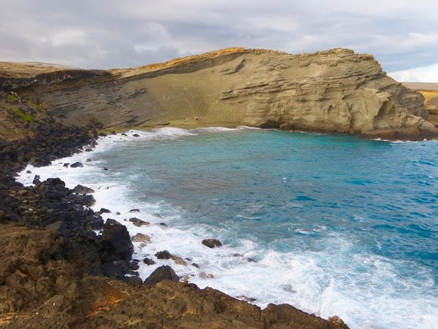 Which Hawiian Island to Visit Green Sands Beach