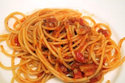 Makaronai yra mėgstamiausia italų virtuvė