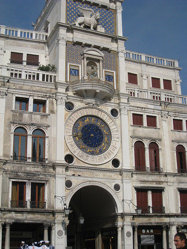 Visit the Torre dell'Orologio in one day in Venice