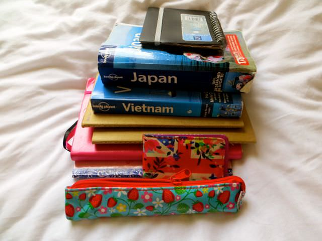 Books are not good for packing light