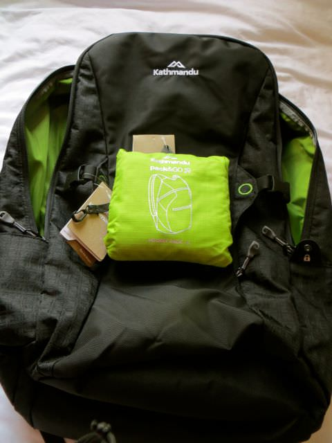 Small Backpack for packing light