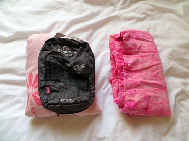 Travel Towel for packing light