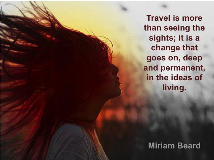 Traveling Quote to inspire