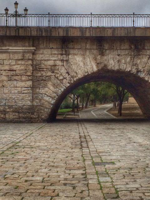 Empty streets Seville - low-season