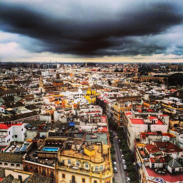 Sevilla storm low-season