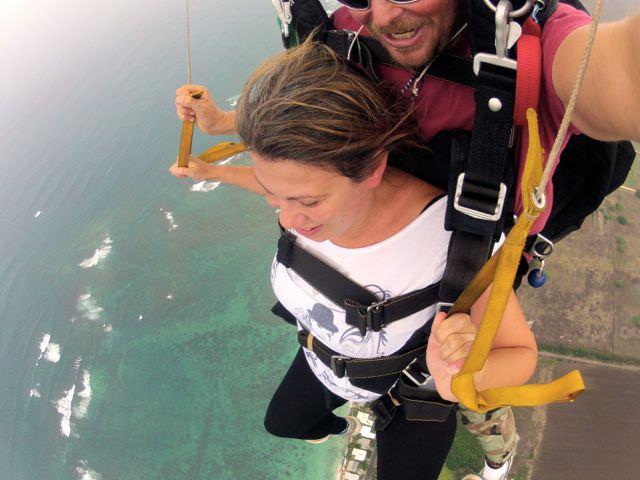 Skydive Hawaii steering