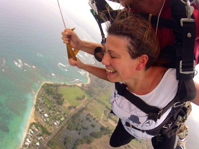 Skydive Hawaii parachute
