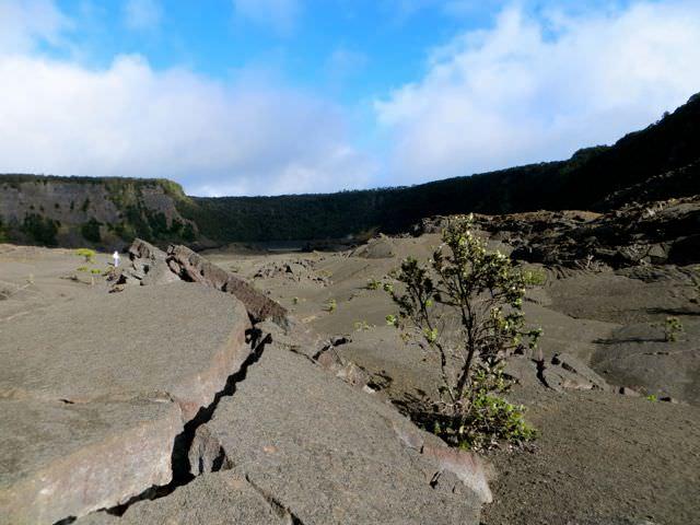 Hawaii Volcanoes National Par Kilauea Iki Trail