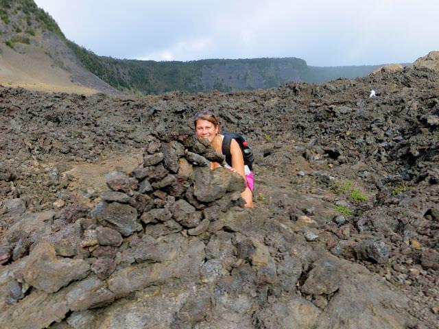 Hiding in Hawaii Volcanoes National Park