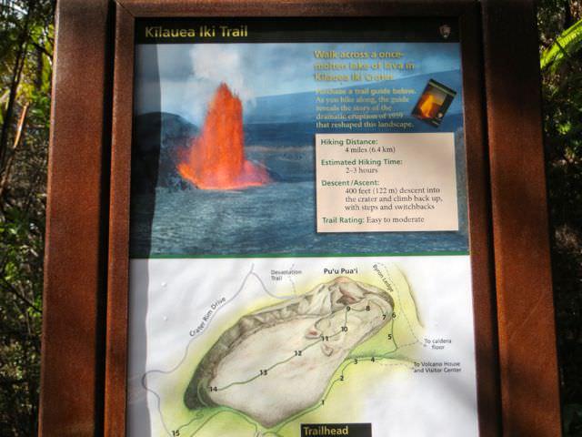 Kilauea Iki Trail Hawaii Volcanoes National Park
