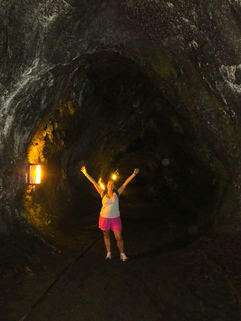 Thurston lava tube Hawaii Volcanoes National Park