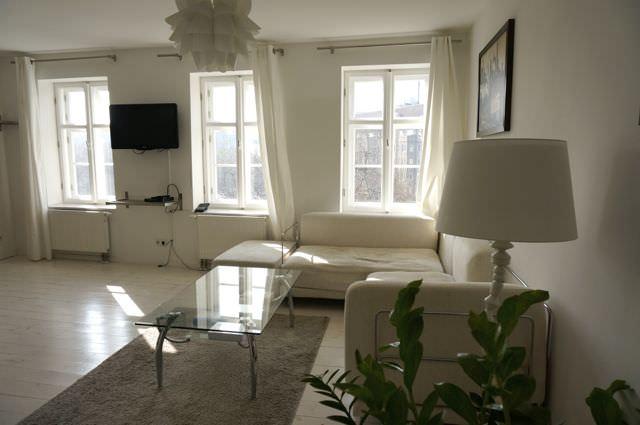 Vacation Rental Living Room Berlin