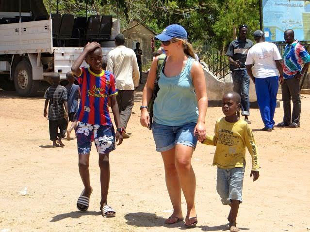 Children Begging Juffureh Gambia Tourism