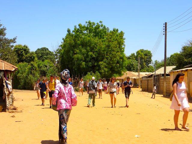 Tourist Juffureh Gambia Tourism