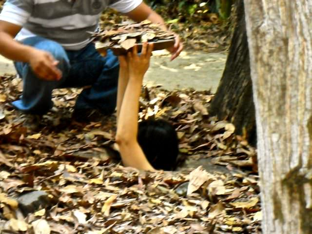 Cu Chi Tunnels what to see in vietnam in 2 weeks