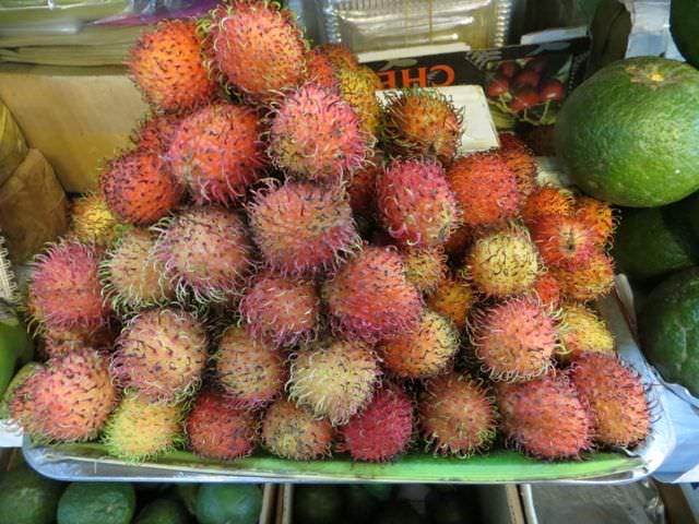 Rambutan Vietnam what to see in vietnam in 2 weeks