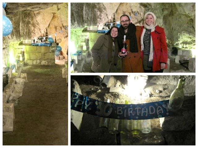 Rave in a cave Montsoreau France