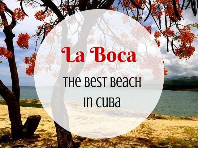 La Boca Beach in Cuba