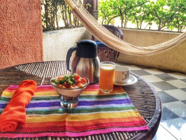 Breakfast Casa Natalia in San Jose del Cabo