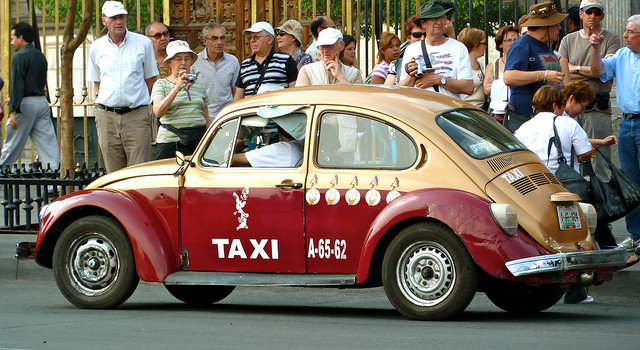 Mexico coty taxis travel stories