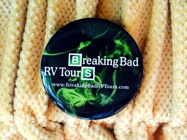 Breaking Bad Tour Badge