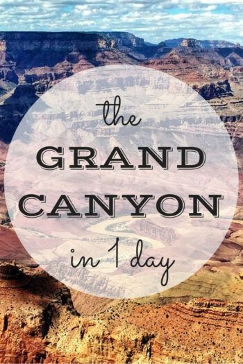 Panoramas over the edge of the Grand Canyon in the USA