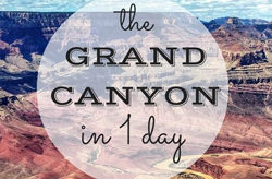 one day at the grand canyon