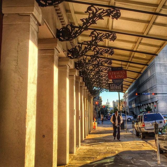 colonnade in new orleans