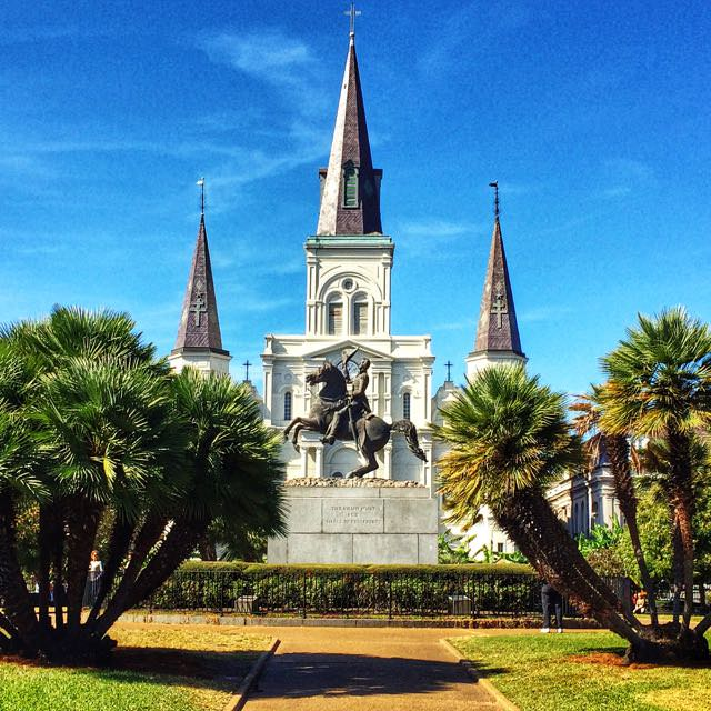 St Louis Church in New Orleans