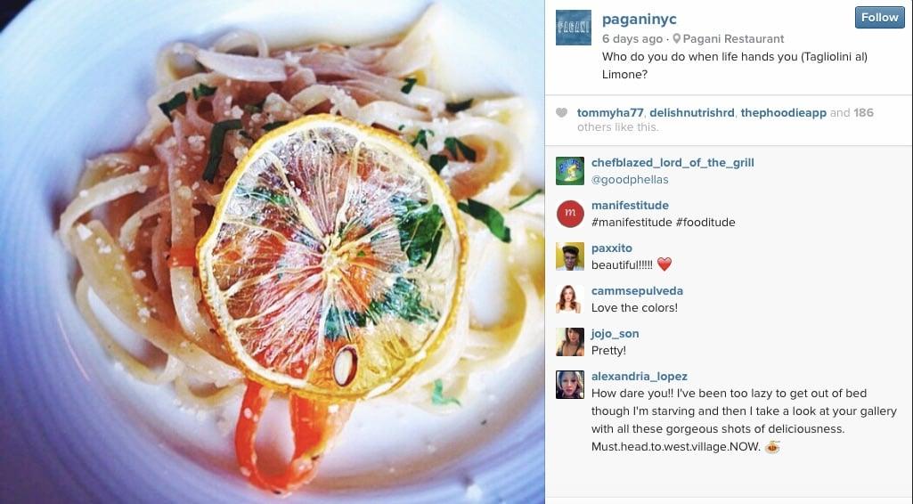Greenwich Village Food Tour Pagani