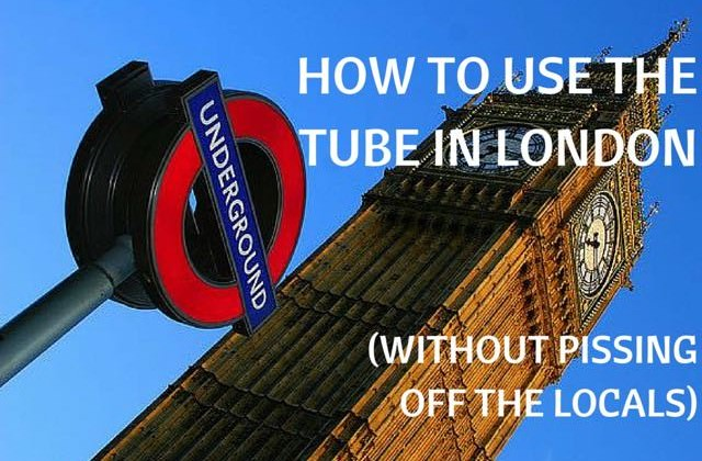 How to use the tube in London
