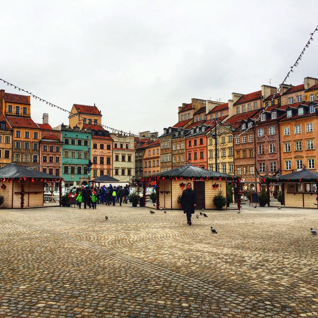 One day in warsaw