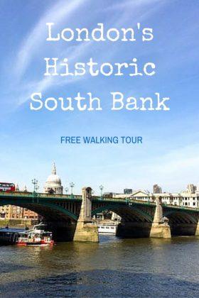 Exploring London South Bank