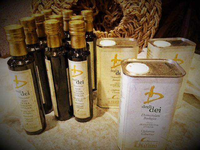 Regional Food in Puglia Olive Oil