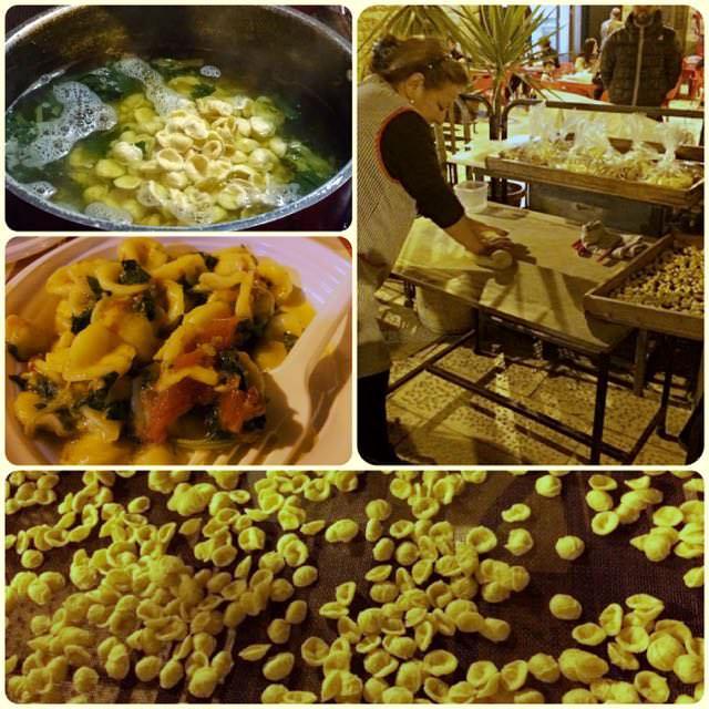 Regional Food in Puglia - Orecchiette Pasta
