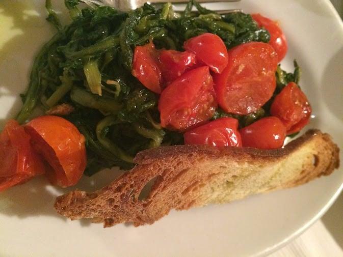 Regional Food in Puglia - Spontaneous Vegetables
