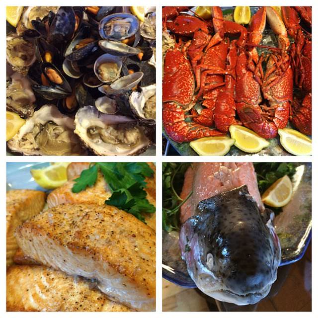 Best things to do in Scotland - food from Lodge on Loch Goil