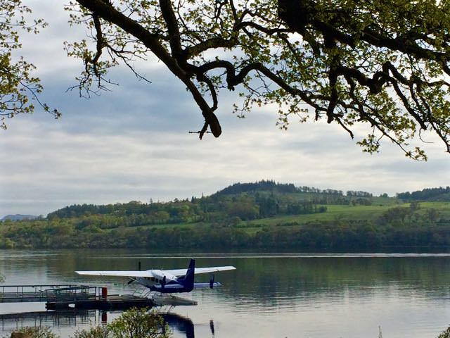 Best things to do in scotland - Cameron House Seaplane