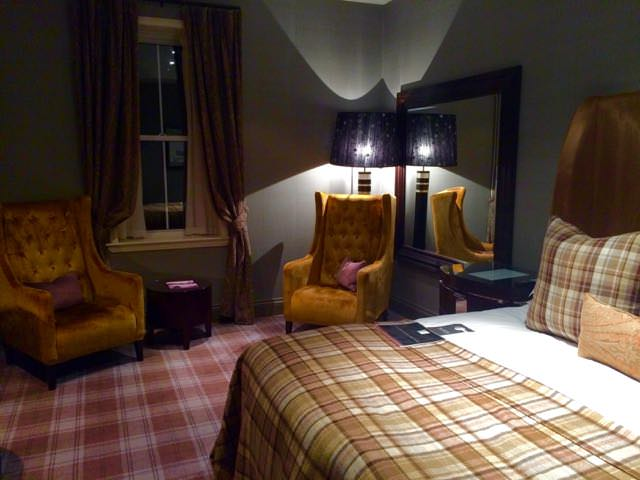 Best things to do in scotland - Cameron House room