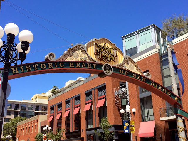 3 days in San Diego itinerary - Gas lamp