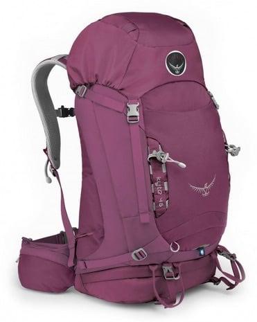 Best Backpak for travelling Osprey Kyte